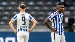Enttäuscht: Herthas Profis kassierten die dritte Niederlage in Serie
