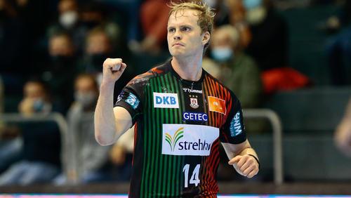 Omar Magnusson war bester Werfer des SC Magdeburg