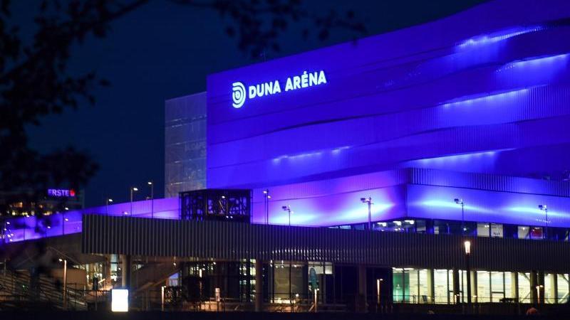 Die Duna Arena in Budapest wird im Mai Schauplatz der Schwimm-EM