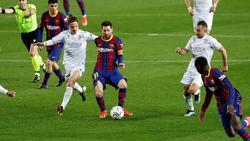 Lionel Messi traf doppelt für den FC Barcelona in La Liga
