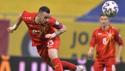 Ilija Nestorovski wird nicht gegen das DFB-Team spielen
