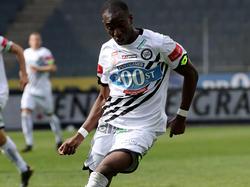 Kelvin Yeboah fühlt sich bei Sturm Graz wohl