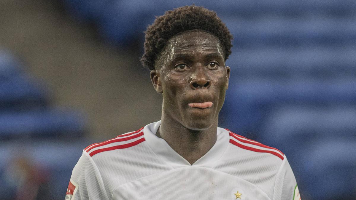 Einer der wenigen Lichtblicke beim HSV: Amadou Onana