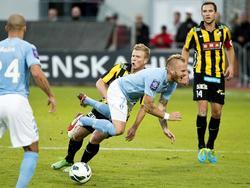Oft nur unsanft zu stoppen: Magnus Eriksson