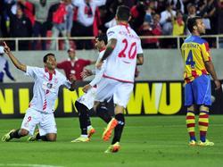 Carlos Bacca erhöht im EL-Halbfinale auf 2:0