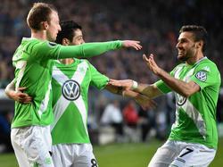 Grün gewinnt: Der VfL Wolfsburg zieht nach 20 Jahren wieder ins Pokalfinale ein.