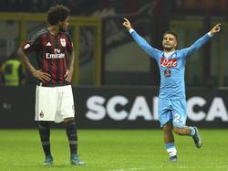 Con el Milan, Luiz Adriano sólo logró tres goles en 18 partidos ligueros. (Foto: Getty)