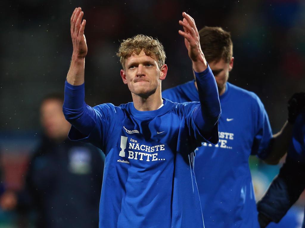 Van den Bergh wechselt von Hertha BSC zum FC Getafe