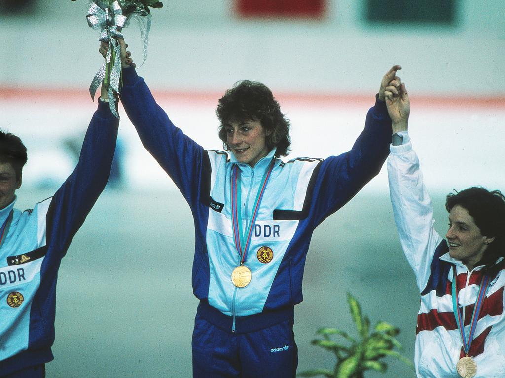 Christa Luding-Rothenburger schaffte 1988 einen historischen Olympia-Coup