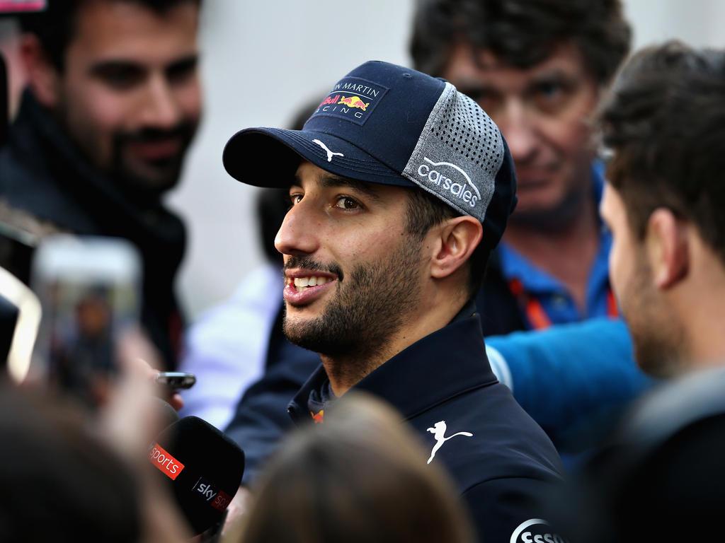 Daniel Ricciardo will mit seinem Team 2018 angreifen