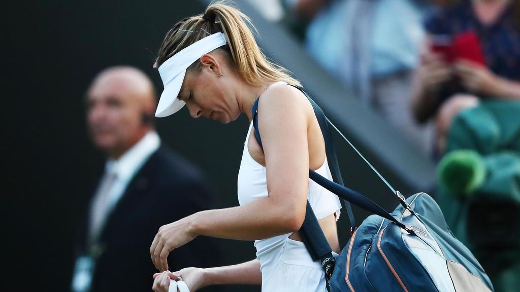 Frühes Aus für Maria Sharapova
