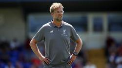 Stellt sich hinter Keeper Loris Karius:Liverpool-Coach Jürgen Klopp