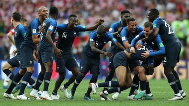 Francia se dará un baño de masas al llegar de Rusia. (Foto: Getty)