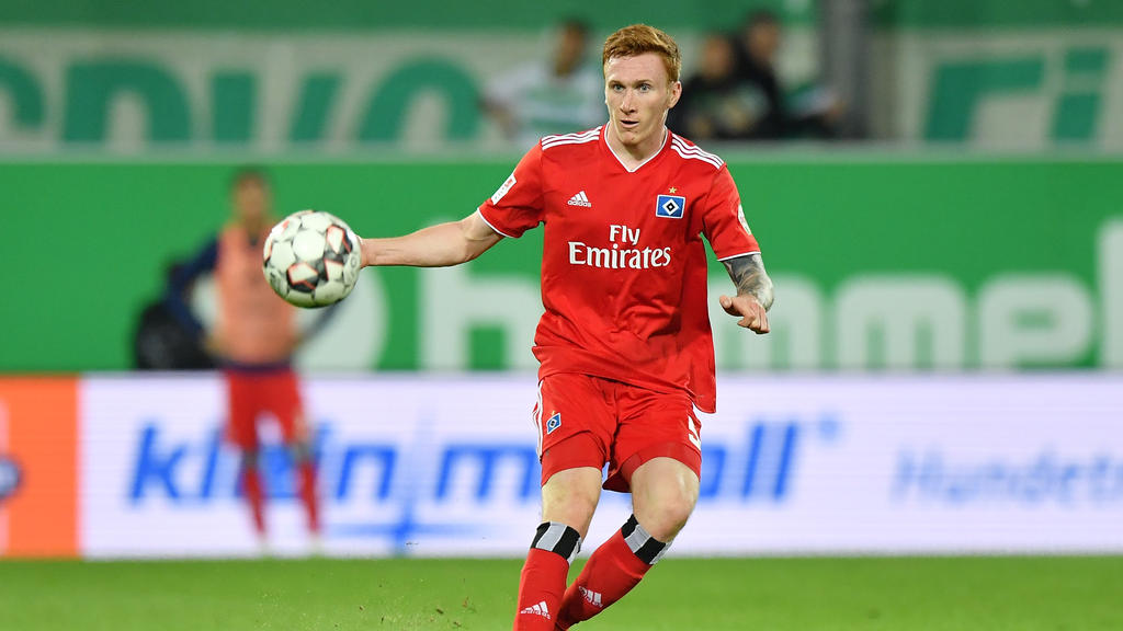David Bates hat beim Hamburger SV einen Vertrag bis 2022