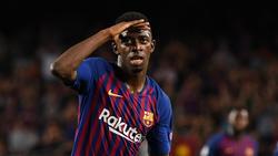 Ousmane Dembélé winkt in Barcelona eine ungewohnte Rolle