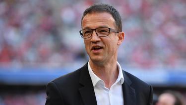 Fredi Bobic von Eintracht Frankfurt freut sich auf die Ankunft des Brasilianers Tuta