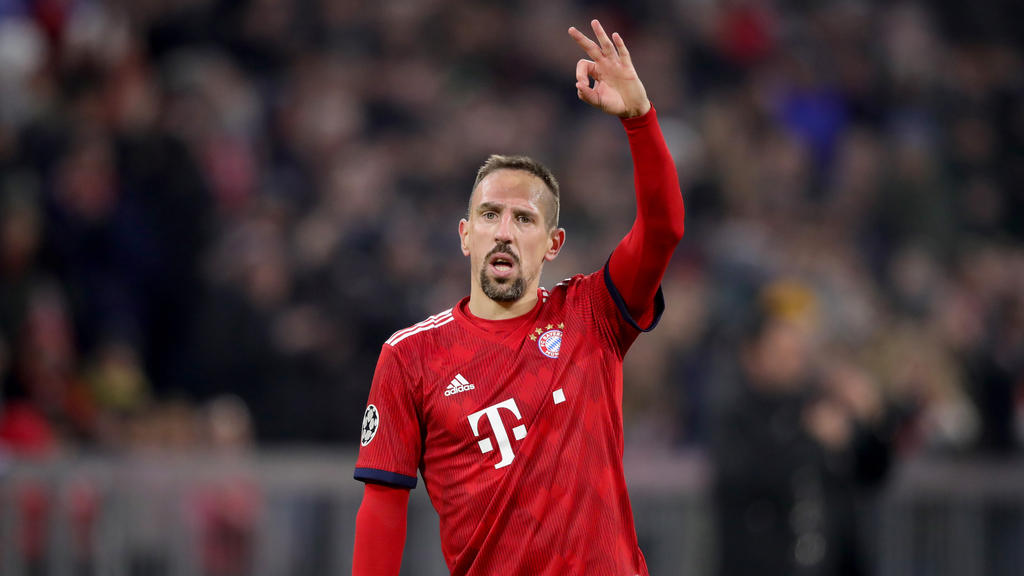 Fühlt sich wohl in München: Franck Ribery