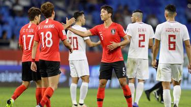 Corea del Sur sigue adelante en la Copa de Asia. (Foto: Getty)