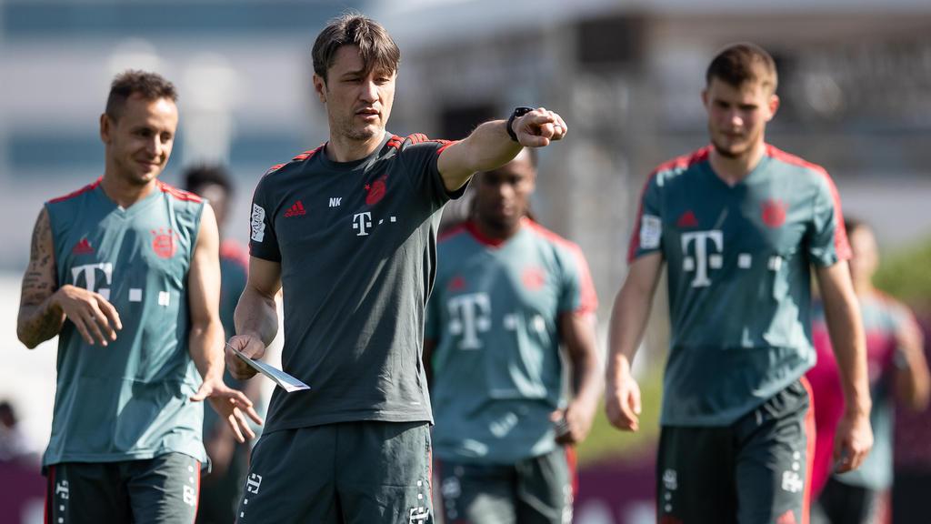 Bayern-Coach Niko Kovac legt in Doha den Grundstein für die Rückrunde