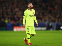 Messi se ha recuperado a tiempo para los duelos con el Lyon en Champions. (Foto: Getty)