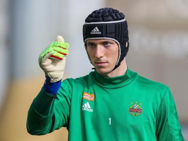 Rapid-Torhüter Richard Strebinger hat schon das Gastspiel im Mailänder San-Siro-Stadion im Fokus