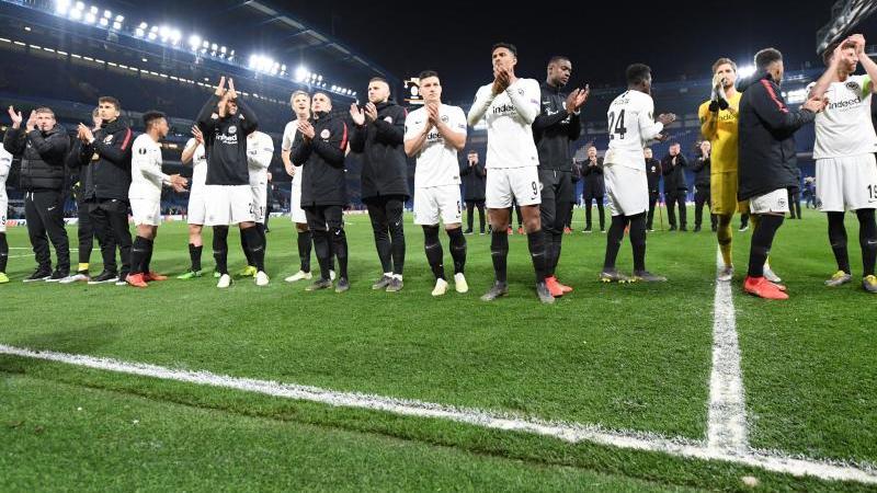 Erst im Halbfinale war für Eintracht Frankfurt in der Europa League Endstation