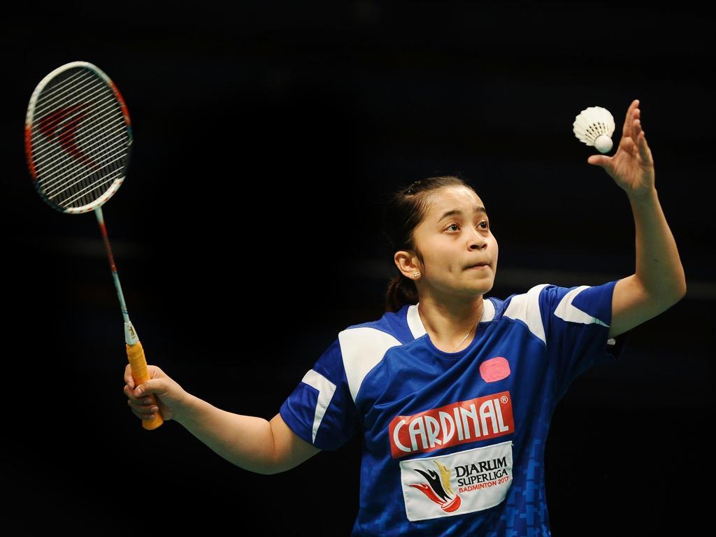 Der Badminton-Sport geht in die Offensive. Hera Desi Rachmawati macht mit