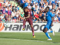 El Barcelona ganó en Getafe en el último cuarto de hora. (Foto: Getty)
