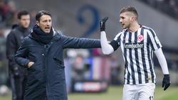 Niko Kovac und Ante Rebic waren gemeinsam mit Eintracht Frankfurt erfolgreich