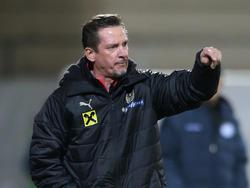 U21-Trainer Werner Gregoritsch
