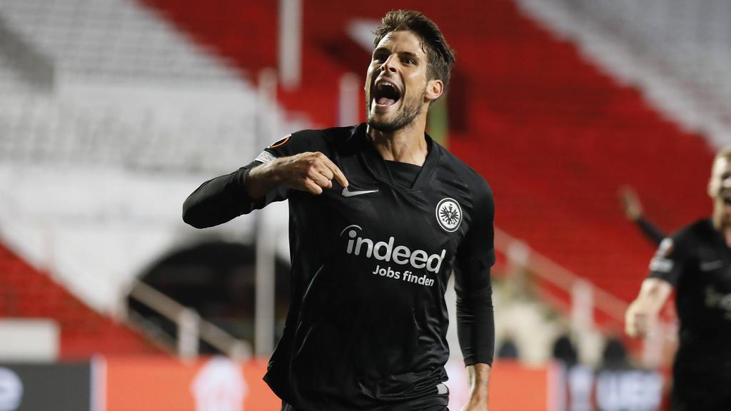 Eintracht Frankfurt jubelt in der Europa League