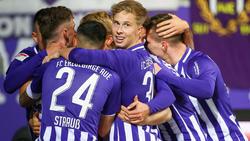 Erster Sieg für Erzgebirge Aue in der 2. Bundesliga