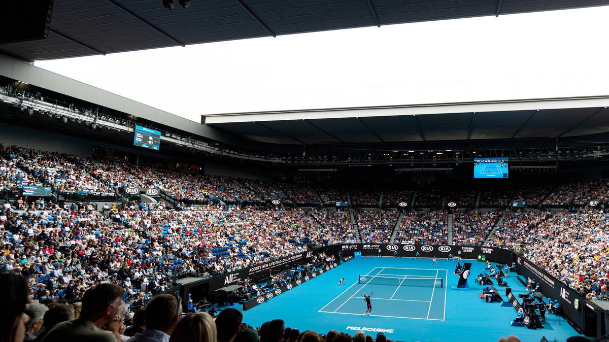 Die Australian Open starteten Sonntagnacht mit der ersten Hauptrunde
