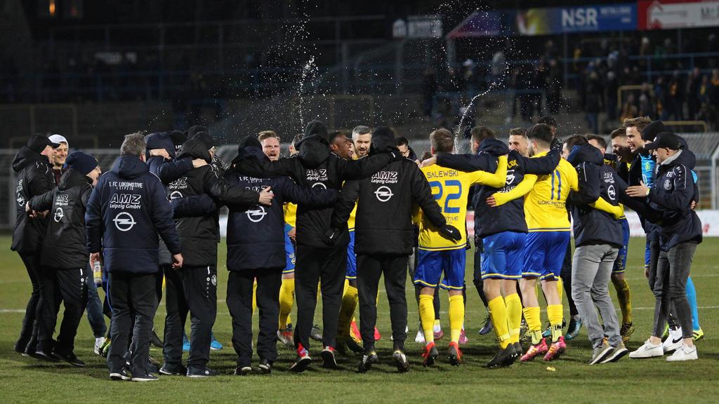 Lok Leipzig spielt um den Aufstieg in die 3. Liga
