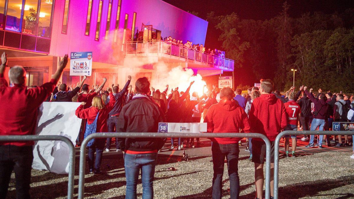 Heidenheimer Chaoten attackierten die Werder-Profis