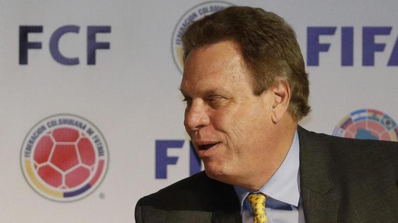 Ramón Jesurún ist Präsident des kolumbianischen Fußballverbandes