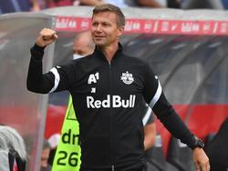 RB-Coach Jesse Marsch freut sich auf eine neue Europacupsaison