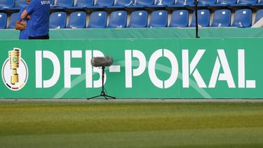 Im DFB-Pokal sollen einige Spiele vor Zuschauern stattfinden