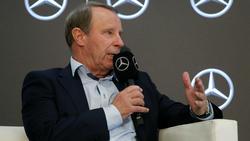Sieht Borussia Mönchengladbach auf einem guten Weg: Berti Vogts