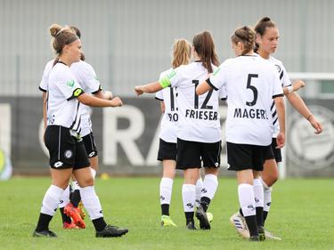 Die Frauenmannschaft von Sturm Graz darf dieses Mal nicht ran