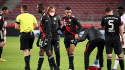 Den FC Bayern plagen Verletzungssorgen
