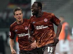 Asamoahs Tor-Debüt für St. Pauli