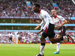 Daniel Sturridge erzielte bei Aston Villa den Treffer des Tages