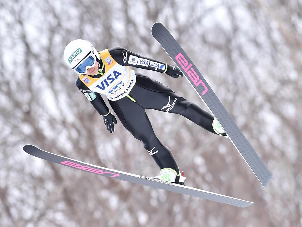 Sara Takanashi dominierte das Springen in ihrer Heimat