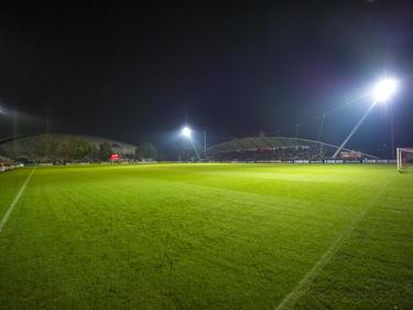 Het theater op de dinsdagavond is het sportcomplex van Ajax. Ajax A1 - FC Barcelona A1 wordt op De Toekomst afgewerkt. (04-11-2014)