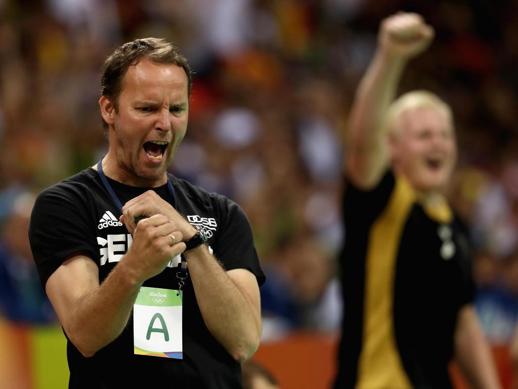 Dagur Sigurðsson und die DHB-Herren gewannen das kleine Finale gegen Polen