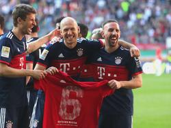 Müller, Robben und Ribéry