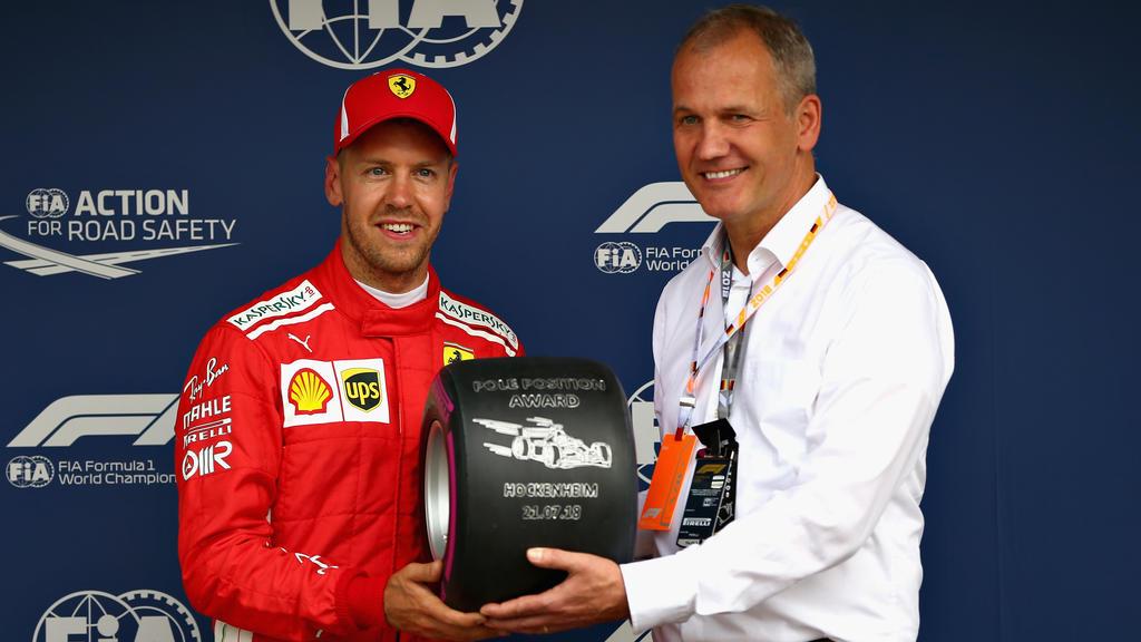 Sebastian Vettel vor heimischen Fans auf Pole- Kimi Räikkönen mit P3 nicht happy