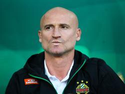 Goran Djuricin wurde nach dem 0:2 gegen den SKN St. Pölten beurlaubt
