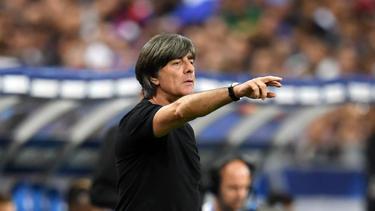 Bundestrainer Joachim Löw setzte gegen Frankreich auf junge Spieler